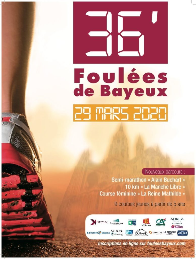 affiche-Bayeux-2020-foulee